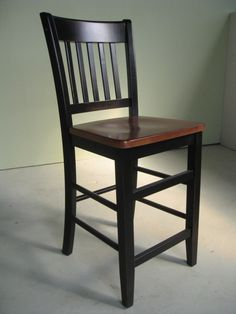 Mission Stool in Black
