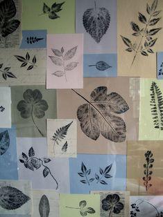 Autumn Wedding Ideas: DIY Printed-Leaf Motif