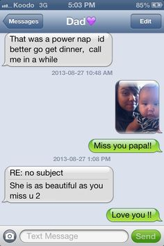 We love papa!!