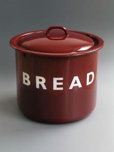 Forget diamonds, I'd like this bread bucket.