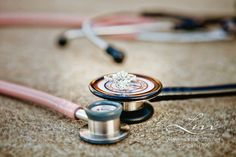my engagement ring shot by Lisa Marie Photography <3 stethoscopes nurses love nurses nurse engagement