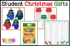 Christmas is a fun time in every classroom, but the finical stress of what you as the teacher can get each and every student in your classroom isn't something that should be adding to your stress factor this year. Here are a few ideas for Student Christmas Gifts that are easy and do able for …