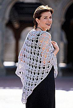Ravelry: Silver Shawl pattern by Lion Brand Yarn