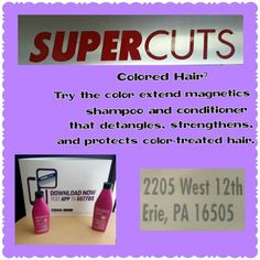 keep your colored hair strong and healthy with this supercuts product