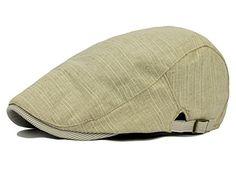 Qunson Men s Gatsby Ivy Irish Hunting Newsboy Cabbie Hat Cap Men s Hats 199fe1672fd