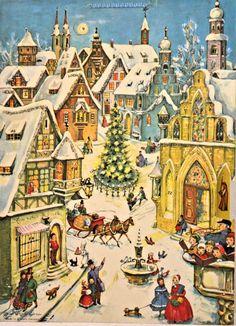 Richard Sellmer Advent Calendar, Order No. Illustrated by Anita Rahlwes Advent Calendar Fillers, Advent Calendars, Winter Scenes, Taj Mahal, Snow, Illustration, A4, Envelope, Celebrations