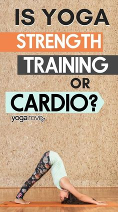Learn to understand what aspects of yoga are strength training and for cardio. Yoga Fitness, Fitness Tips, Card Workout, Cardio Yoga, Yoga Routine For Beginners, Different Types Of Yoga, Yoga At Home, Strength Training Workouts, Yoga Tips