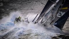 Three Volvo Ocean Race images have been voted the top three best sailing images of the year by the public in the prestigious Mirabaud Yacht Racing Image competition.