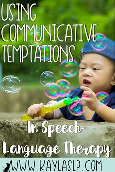 Curious about using communicative temptations to elicit language? Here's how to get started!