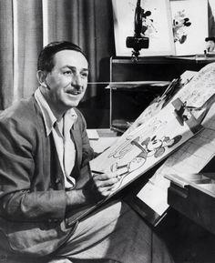 """""""La fantasia non potrà mai invecchiare, per la semplice ragione che rappresenta un volo verso una dimensione che giace al di là del tempo."""" Buon compleanno Walter Elias Disney (1901-1966)"""