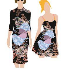 fleur du Brancovan 7 Sparrow Formal Dresses, Store, Fashion, Flowers, Dresses For Formal, Moda, Formal Gowns, Fashion Styles, Larger