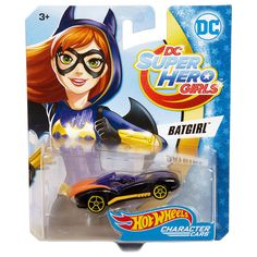 Hot Wheels fans and DC Super Hero Girls enthusiasts will love recreating super hero moments with these premium Character Cars! Inspired by the powerful students of DC Super Hero High, these DC Super Hero Girls Character Cars are ready for any call to action! Each Character Car features unique decos and details that showcase the character's unique powers and signature look. Choose from Wonder Woman, Supergirl, Batgirl, Harley Quinn or Katana. These Câharacter Cars are sure to be...