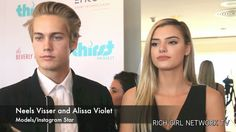 Neels Visser and Alissa Violet At The Thirst Project