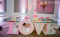 Weddings Gallery, Brit Bertino Event Excellence, Valentine's Day I Do's, LOVE themed.