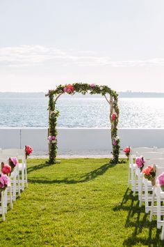 wedding ceremony idea; photo: Erin McGinn Photography