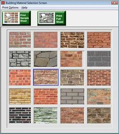 paper house patterns | Miniature Brick Paper for Minatures and Model Trains - Modeling ...