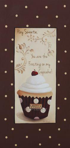 Usted es el glaseado de mi Cupcake por catherineholman en Etsy