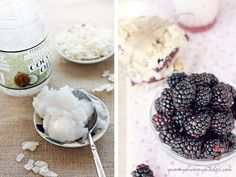 Baking with Virgin Coconut Oil is easy and delicious. Check out these Blackberry Coconut Crumble Bars!