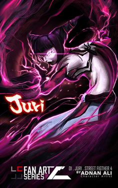 Juri from Street Fighter 4 by Adnan Ali