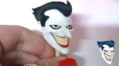 Coringa BATMAN - Modelagem em Biscuit por Regiane Ribeiro