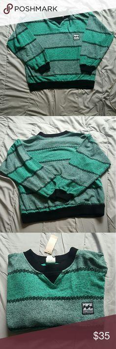 Vintage Billabong pullover New with tags Billabong Shirts Sweatshirts & Hoodies