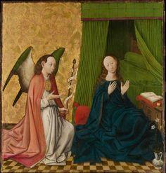 Fine Art Print-The Annunciation. Creator: South Netherlandish Painter (ca. Fine Art Print on Paper made in the UK Medieval Art, Renaissance Art, Medieval Books, Fine Art Prints, Canvas Prints, Framed Prints, Madonna, Main Image, Dutch Artists