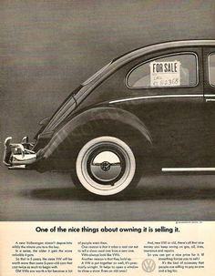 Volkswagen Beetle, Doyle Dane Bernbach, 1966