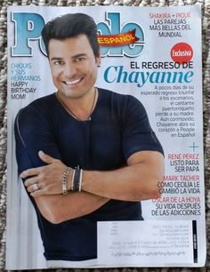 People en espanol june 2014 Chayanne regresa,Shakira + Pique ,Oscar de la Hoya.