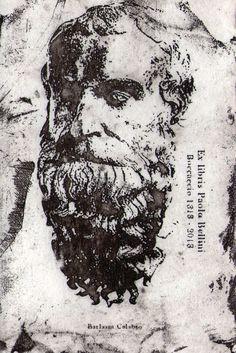Barlaam di Siminara 18 x 15 cm Acquaforte, puntasecca 2014
