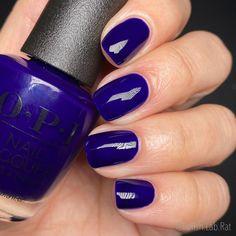 Opi Nail Polish Colors, Opi Nails, Dark Navy Blue, Rat, Makeup, Beautiful, Products, Florals, Make Up
