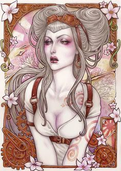 Brilliant Set of Illustrations by Asuncion Macian Ruiz aka Medusa Dollmaker
