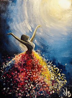 What is Your Painting Style? How do you find your own painting style? What is your painting style? Diy Canvas Art, Acrylic Painting Canvas, Acrylic Art, Acrylic Painting Inspiration, Canvas Ideas, Framed Canvas, Dance Paintings, Fall Paintings, Canvas Art Paintings