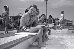 Photo of the original Ryde Pool in 1981 in Ryde, NSW (Ingeborg Tyssen) #Ryde #Swimming #SwimmingPool #History #RydeLocal #CityofRyde #Archives