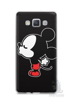 Capa Capinha Samsung A7 2015 Mickey e Minnie Beijo - SmartCases - Acessórios para celulares e tablets :)
