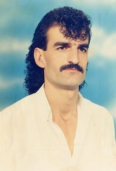 There is nothing quite like a permullet with a moustache...a lethal combination...