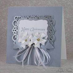 CC407 Silver/gold anniversary by Arizona Maine - Cards and Paper Crafts at Splitcoaststampers