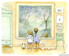 artist Becky Kelly - such sweet, adorable watercolors