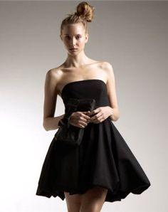 Delphine Manivet - Black dress for La Redoute Short Mini Dress, Short Dresses, Formal Dresses, Delphine Manivet, Strapless Dress Formal, Dress Up, Fashion Dresses, Couture, My Style
