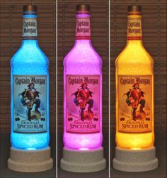 Changing Bottle Lamp Bar Light LED Remote Controlled Bodacious Bottles