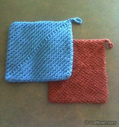 These are the handiest and Easy Hot-Pads you will ever make.  ENJOY, Great for Your own Kitchen or as gifts.