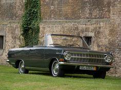 1963–65 Opel Rekord Cabriolet by Karl Deutsch (A)