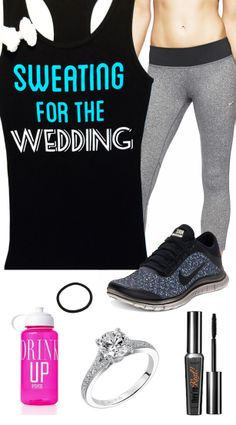 Bridal #Workout Gear featuring Sweating for the WEDDING WITH BOW Women's #Bridal Tank Top by #NobullWomanApparel, $27.99 on Etsy. Click here to buy https://www.etsy.com/listing/156119983/sweating-for-the-wedding-with-bow-womens?ref=shop_home_active_8&ga_search_query=sweating