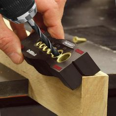 Drill straight holes into various surfaces - every time.