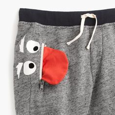 Kids' Max the Monster sweatpant in slim-fit Gender Neutral Baby Clothes, Cute Baby Clothes, Quirky Fashion, Kids Fashion, Toddler Boy Outfits, Kids Outfits, Night Suit, Baby Sewing Projects, Child Models
