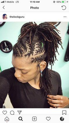 2019 best dreadlocks styles #wylocks#dreadskenya#locnation Dreads Styles For Women, Short Dreadlocks Styles, Short Locs Hairstyles, Medieval Hairstyles, Dreadlock Styles, Short Hair Styles, Girl Hairstyles, Natural Hair Tips, Natural Hair Styles