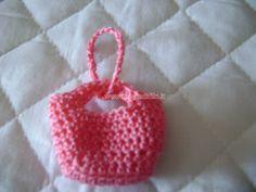 borsetta a uncinetto Amigurumi Tutorial, Mini Bag, Straw Bag, Crochet, Hobby, Bags, Fantasy, Barbie Clothes, Applique Patterns