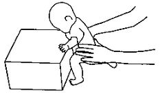 Hand Sweep encourage child to get hand flat on a solid