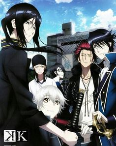 K Project   I Barely Stared Watching This On Netflix & Love so far, An Anime I Constituter Watching  