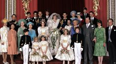 Queen Elizabeth II Princess Diana wedding Photo (C) For all the photos and More :  GETTY IMAGES http://www.viral-news.net/for-the-very-first-time-revealing-some-unknown-facts-about-princess-diana/#.V406AOsrLIU