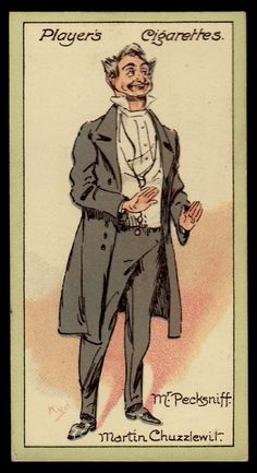Flickr- Players Cigarettes- Characters from Dickens- Mr Pecksniff,Martin Chuzzlewit 1923 #23